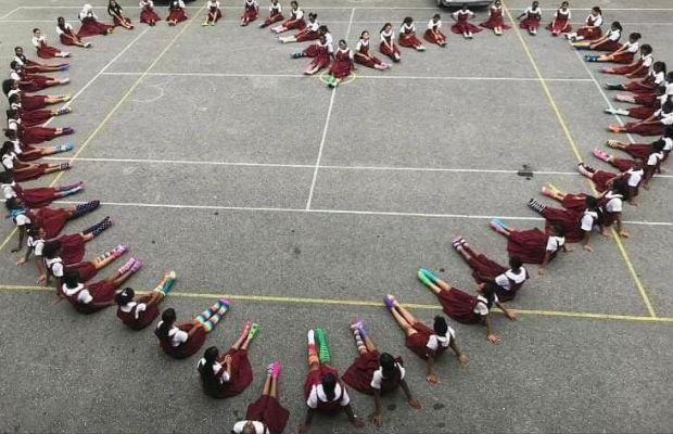 Lots Of Socks - HF Primary School Pupils, Couva, Trinidad
