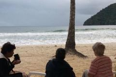 Silent Reflection at Maracas Bay, Trinidad