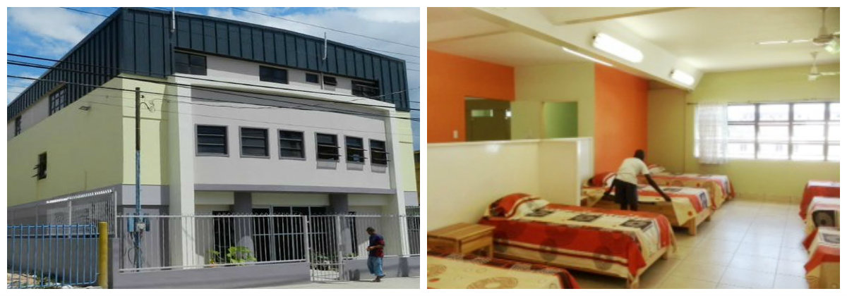 Destroyed Centre Re-opens in Trinidad