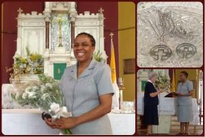 Joy as Sr Pauline Takes Vows