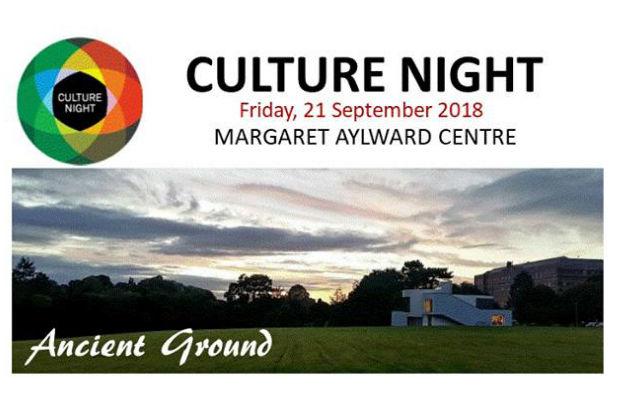 Culture Night 2018 – Margaret Aylward Centre, Glasnevin.